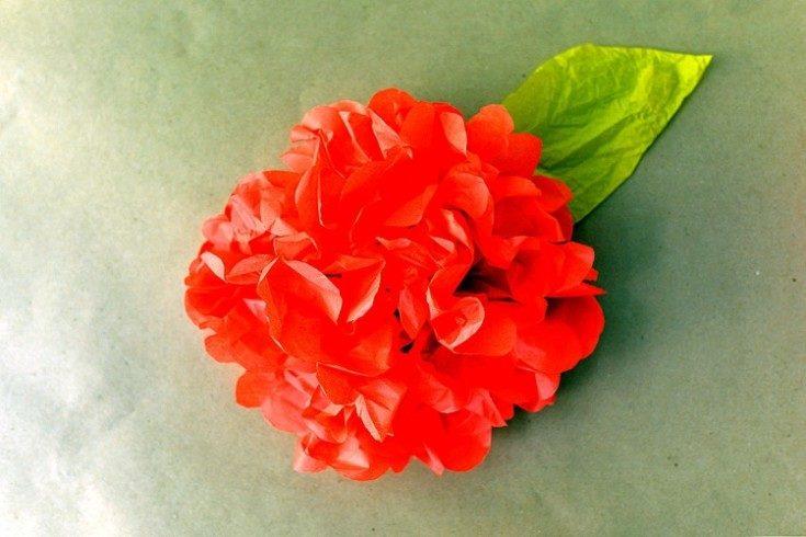 (+70 φωτογραφίες) Λουλούδια από χαρτοπετσέτες Κάντε το μόνοι σας για εσωτερικές 70 φωτογραφίες