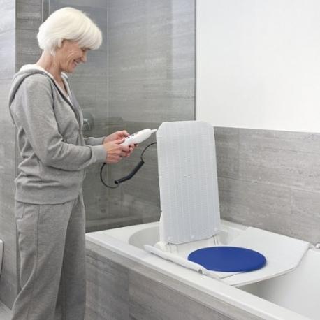 Disque pivotant pour lift de bain