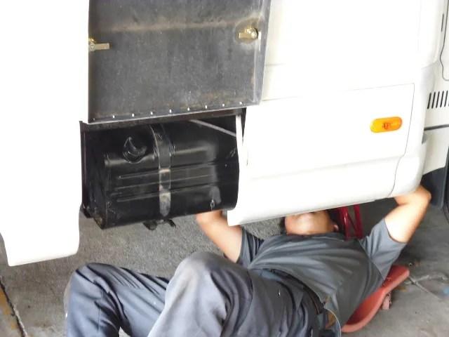 FFヒーター 燃料タンク