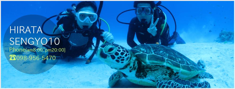 沖縄スキューバダイビング|平田潜漁店