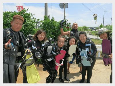 沖縄スキューバダイビング|ビーチダイビング