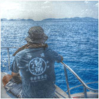 沖縄の海にぴったり★和風オリジナルTシャツ