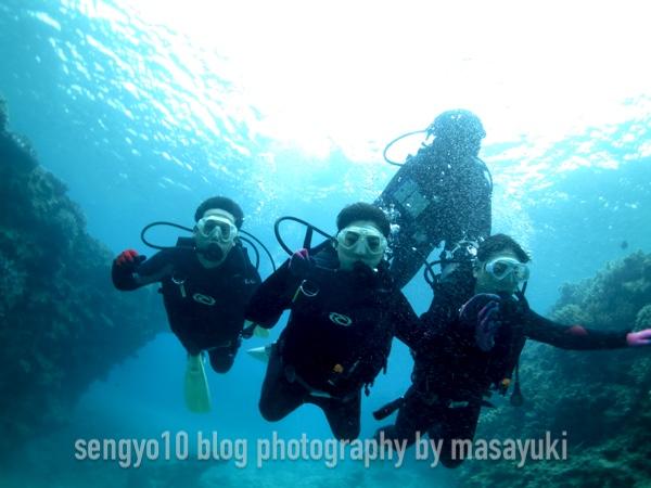 沖縄体験ダイビング|北部・崎本部・本部・ゴリラチョップ
