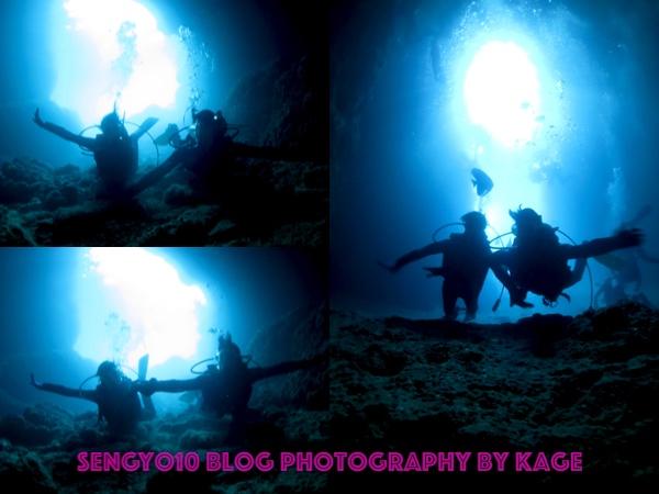 沖縄青の洞窟ダイビング|Kさんチーム2