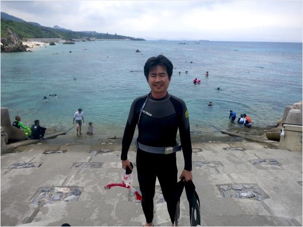 沖縄本島北部の人気スポット!ゴリラチョップにてスキンダイビングコースを開催してきました