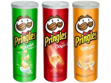 Batata Pringles Queijo Original Creme e Cebola - 3 Unidades - Pringles - Magazine Luiza