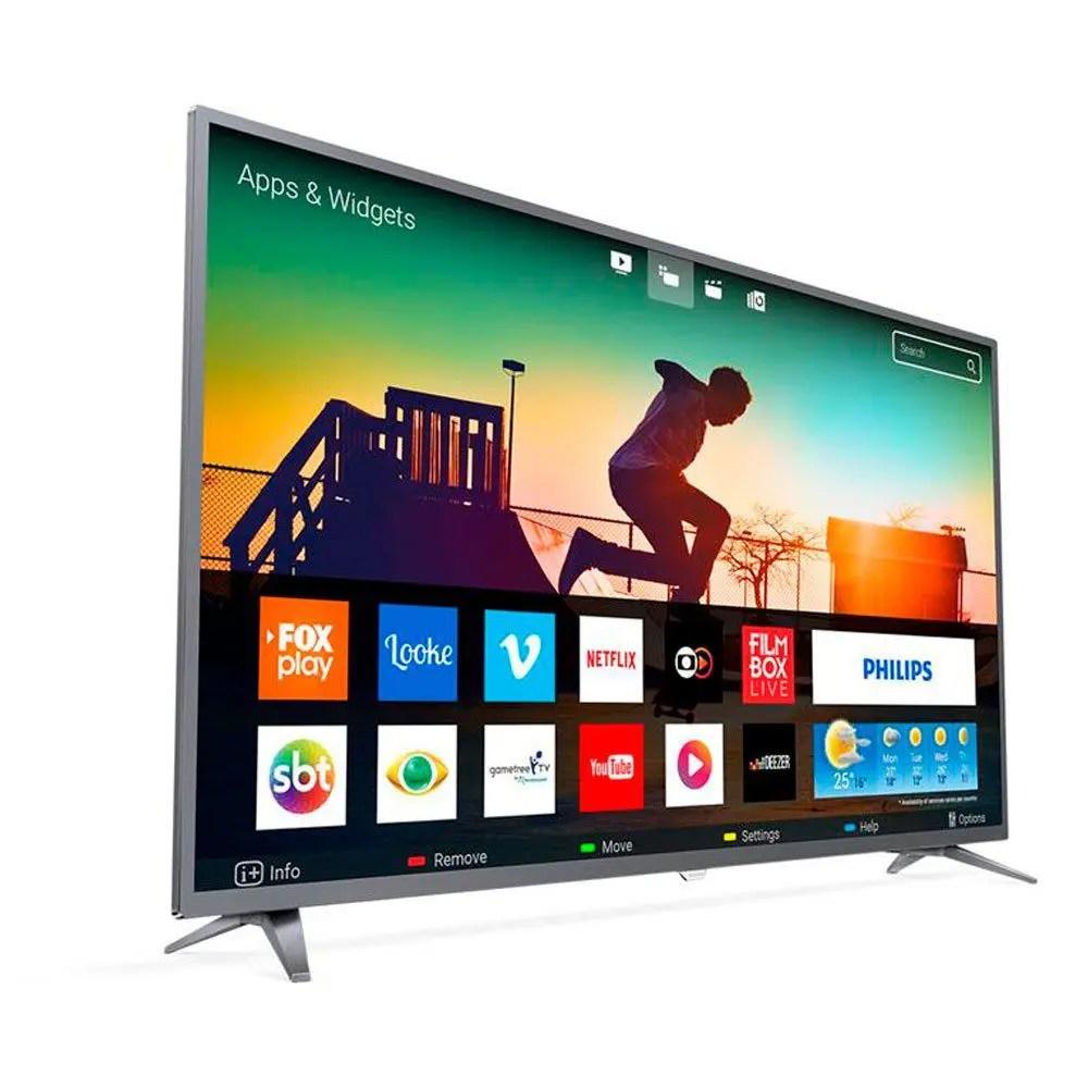 Smart TV LED 50 Polegadas Philips 50PUG6513 4K USB 3 HDMI Netflix - Aoc - Smart TV - Magazine Luiza