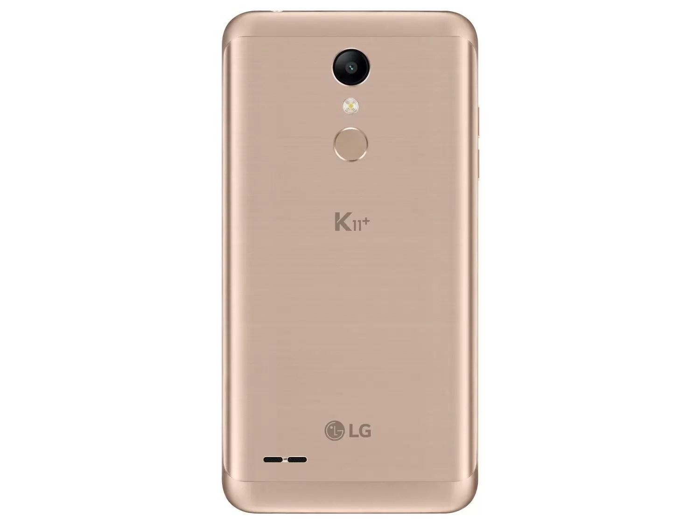 "Smartphone LG K11+ 32GB Dual Chip Android 7.0 Tela 5.3"" Octa Core 1.5 Ghz 4G Câmera 13MP - Dourado - LG K11+ - Magazine Luiza"