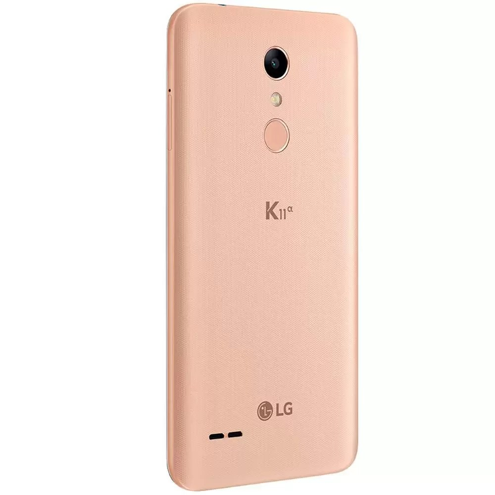 Smartphone LG K11 Alpha LMX410BTW Dourado - Celular LG - Magazine Luiza