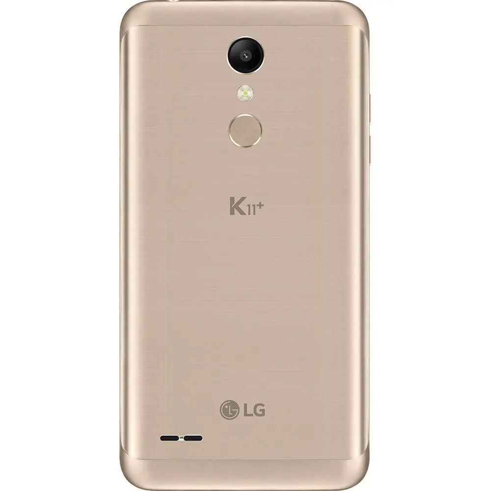 Smartphone LG K11+ Dual 5.3 32GB 13MP - Dourado - LG K11+ - Magazine Luiza