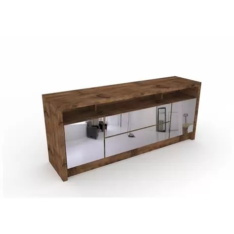 Aparador para Sala de Jantar Buffet com Espelhos TB277E