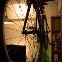 クロスバイクが来たので乗ってみた、ついでに部屋に保管できるようにした