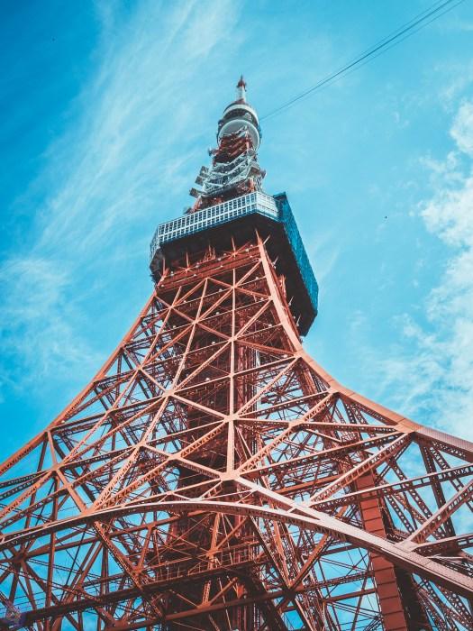 意味もなく東京タワーの写真を撮り