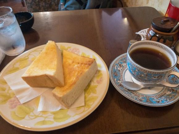 珈琲茶論のモーニング