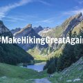 Hiking second - MakeHikingGreatAgain
