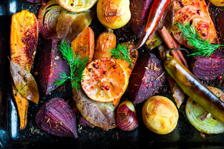 Vegetable Demi-Glace