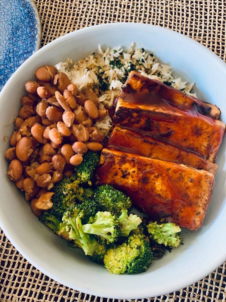 BBQ Tofu Bowl