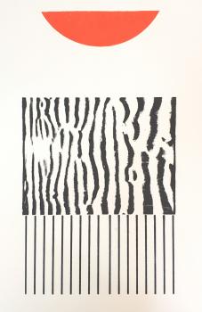 """Uit het tweeluik """"the tide"""" 50 x 65 - enkele oplage - beschikbaar/ available"""