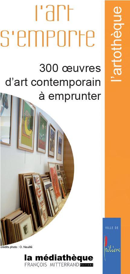 Dépliant artothèque