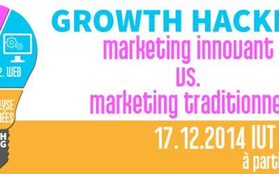 Conférence Growth Hacking – La Mêlée Adour