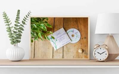Création graphique de la jaquette du CD des Centaurées de Nistos, chorale pyrénéenne