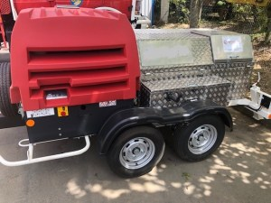 TR 2500 C TRAILER-MOUNTED WINCH