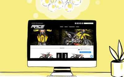Création de la boutique en ligne Race Design