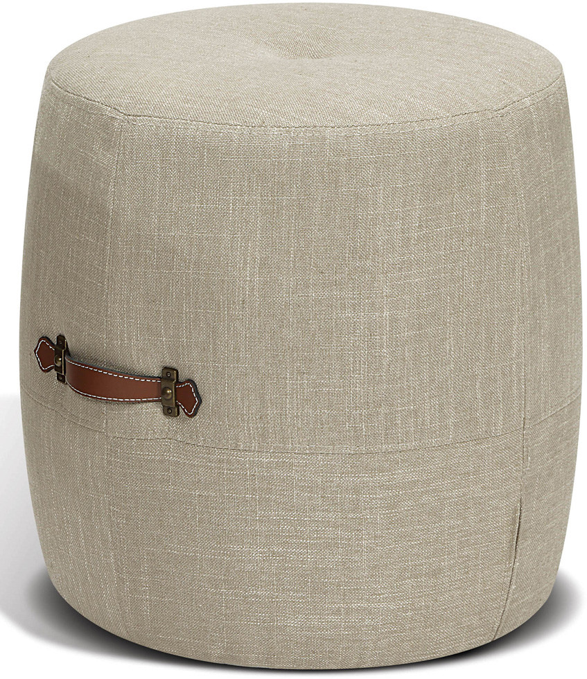 Korson Drum Stool | Khaki | Hudsons Bay