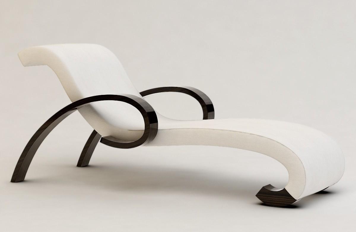 Armani Casa |Barromini Chaise Lounge