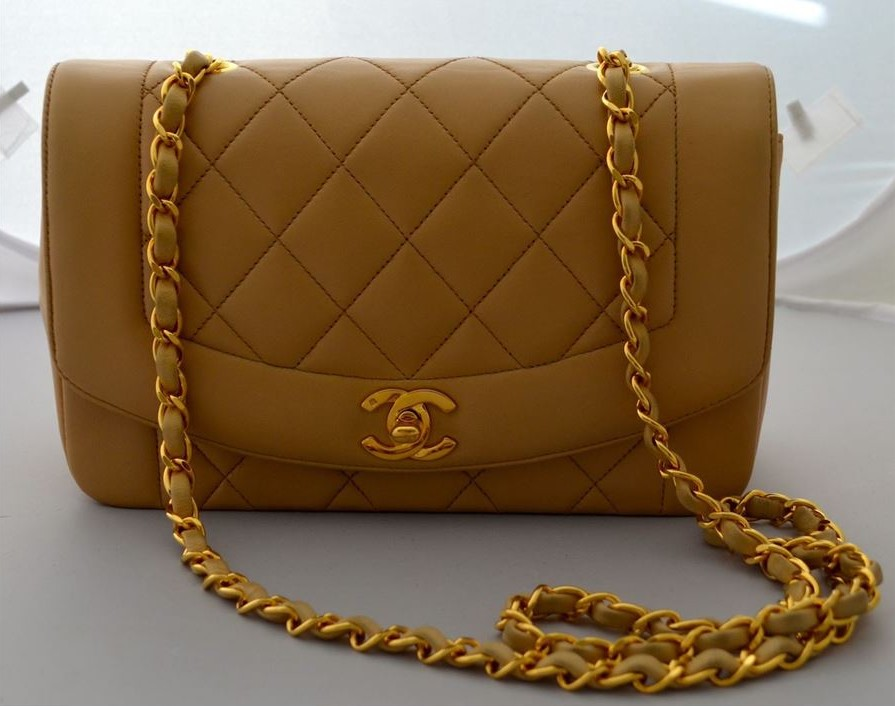 Chanel | Vintage Brown Leather Quilted 2.55 Double Flap Bag |