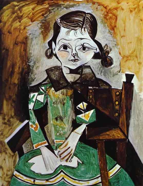 Portrait of Paloma Picasso   Pablo Picasso   1956.