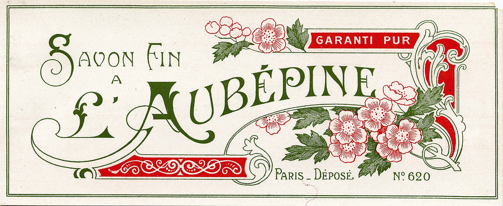 Vintage French Soap Label | Image via The Graphics Fairy