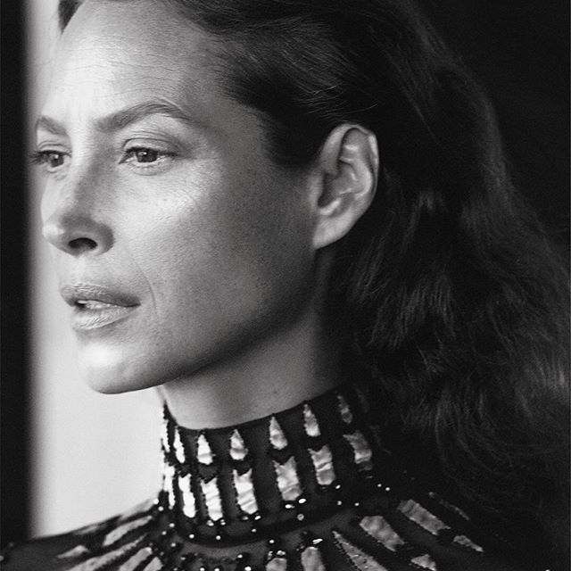 Christy Turlington Burns, Harlem New York, Photo: David Sims; Valentino campaign, 2017