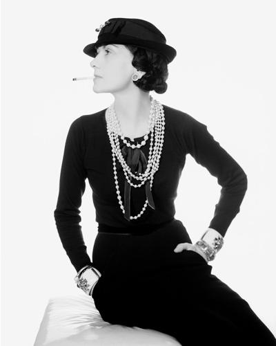 Coco Chanel 1935 Photo: Man Ray