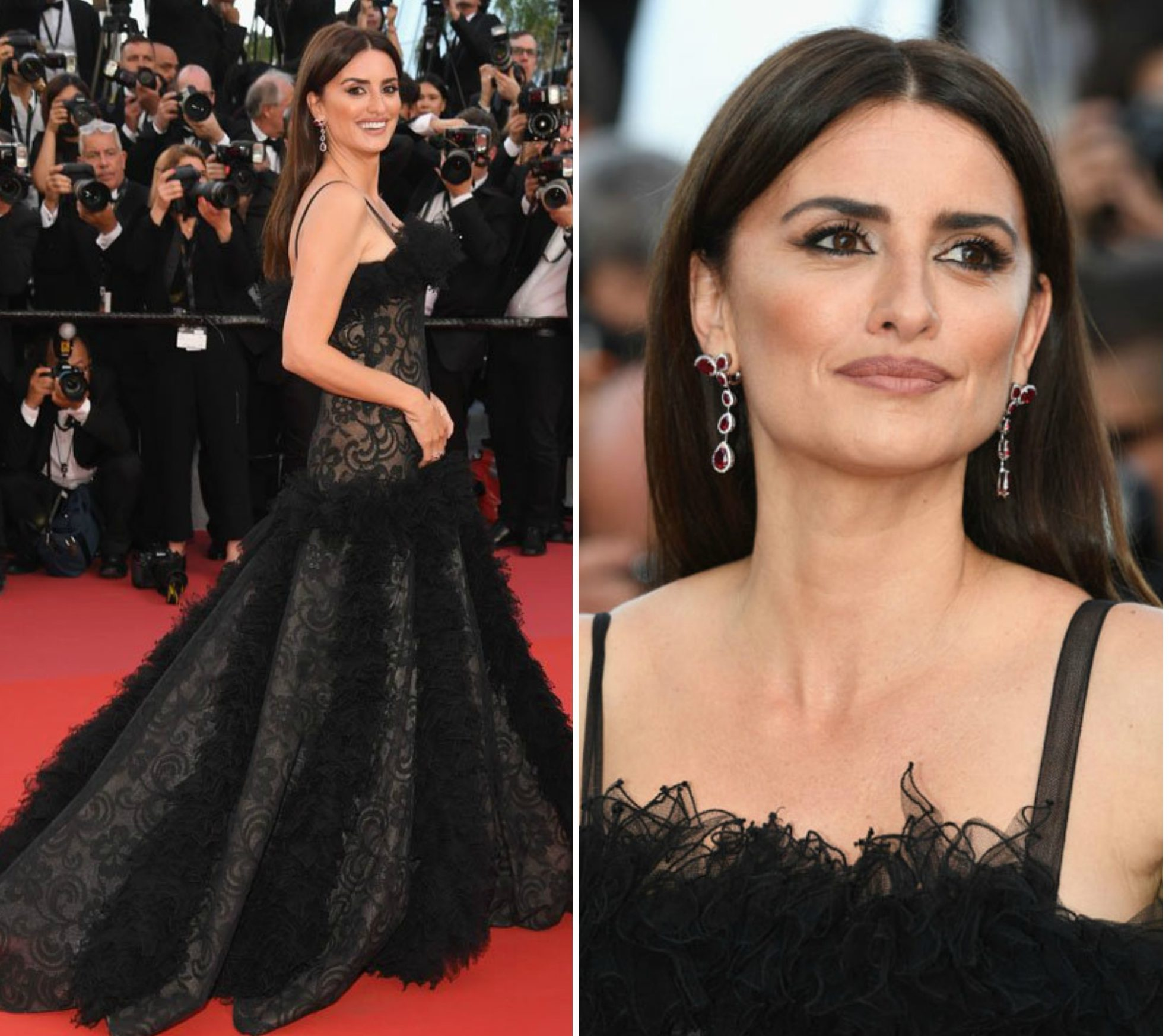 Penelope Cruz In Vintage Chanel; Cannes Film Festival, 2018