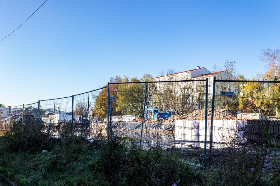De Plaats waar de Clarissentoren gaat komen | Foto: Gijs Franken / Omroep Tilburg
