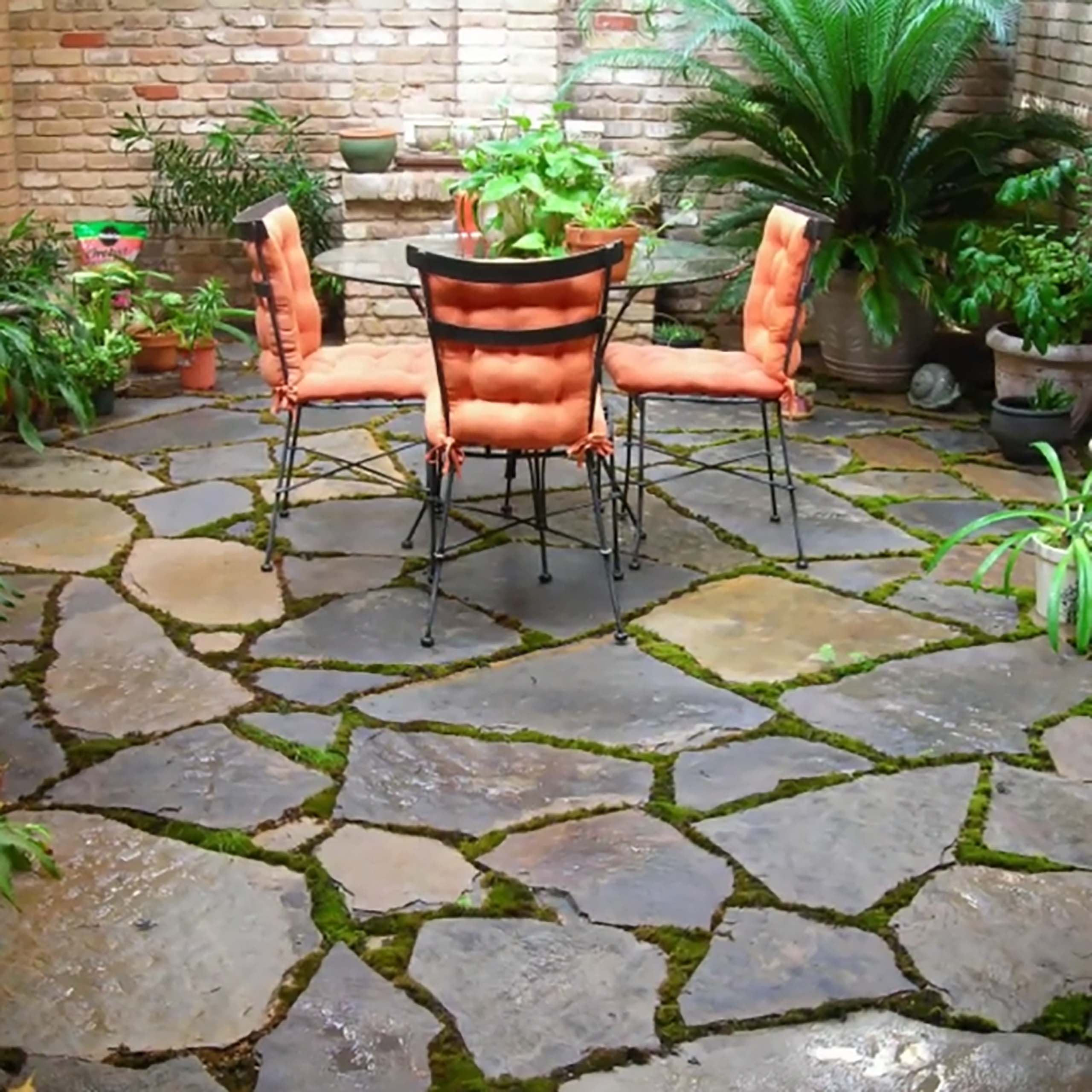 simple patio design by A-Z Landscaping LLC
