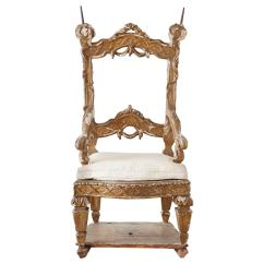Kings Chair For Sale Virtual Reality 18th Century Venetian Neoclassical Parade Or