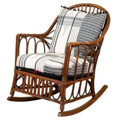 1920s Rocking Chair Ergonomic Marina Square Bent Wood With Injiri Upholstery For Sale At 1stdibs