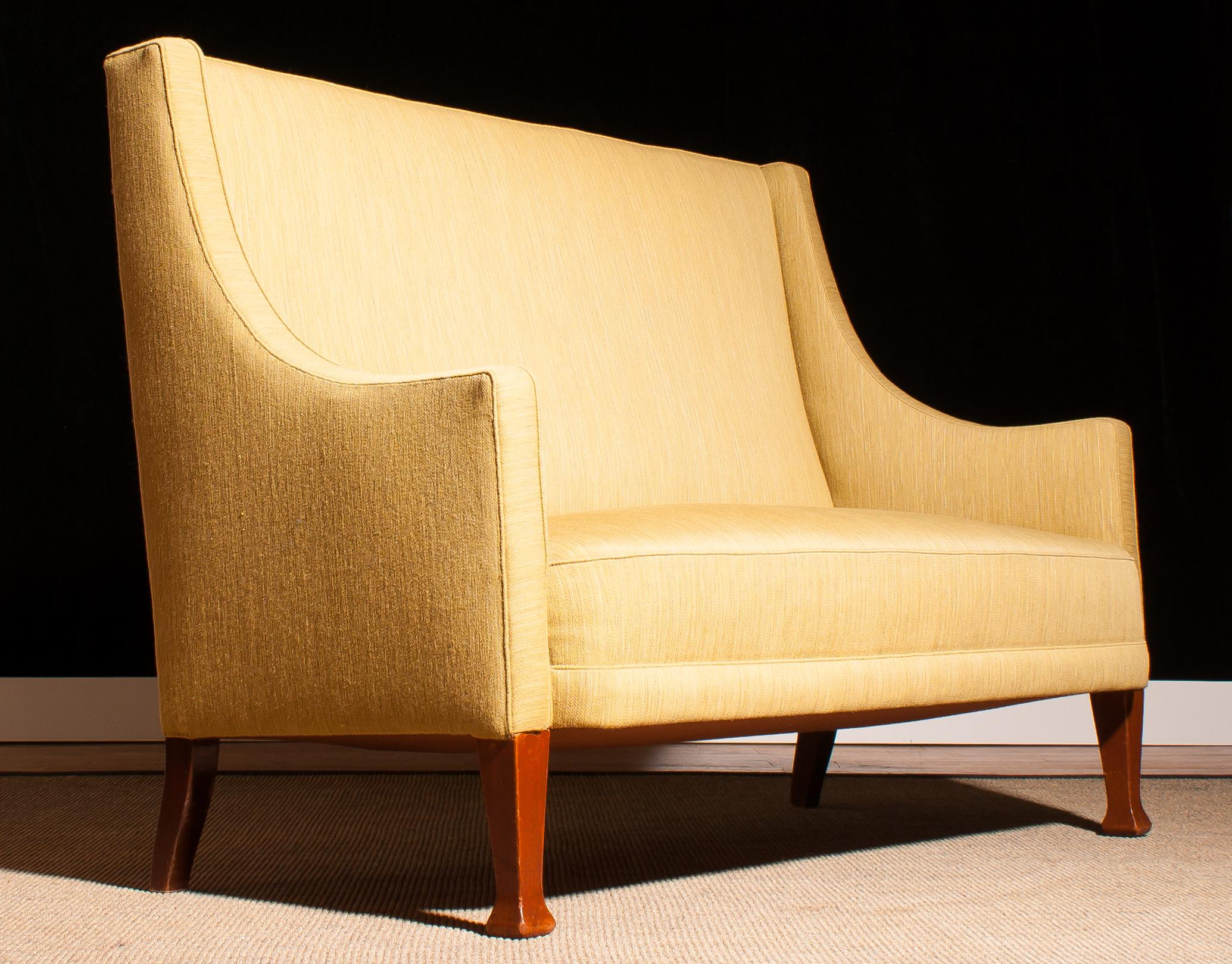 high back sofa and loveseat legs for sofas chairs 1950s scandinavian couch sale at 1stdibs 3