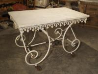 19th Century, French Pastry or Butchers Display Table with ...