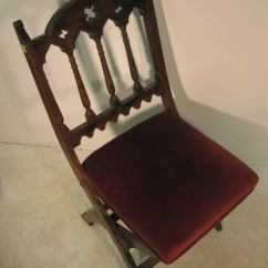 Wooden Church Choir Chairs Hammock Chair Stand Calgary 19th Century Set Of Four Gothic Style For Sale At 1stdibs