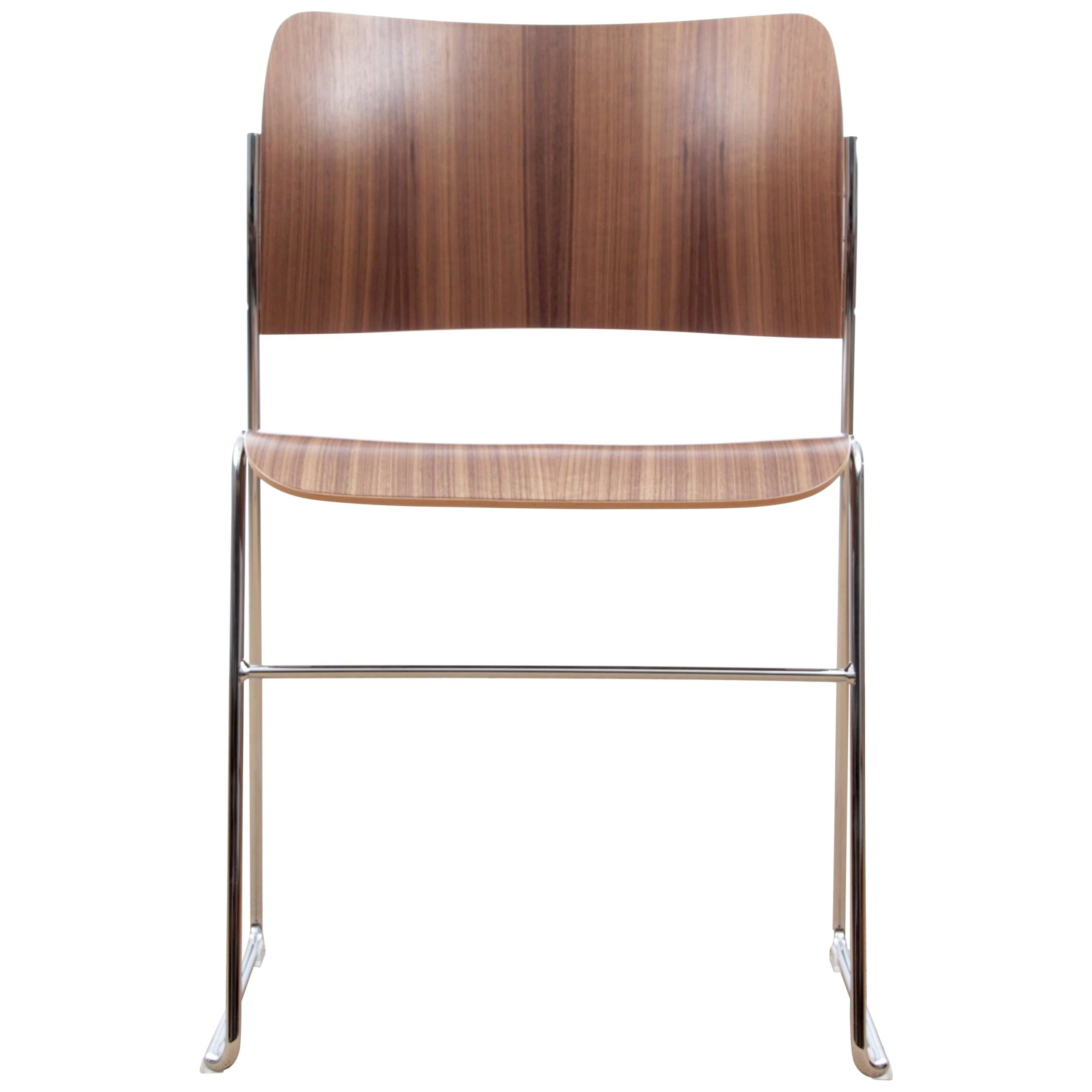 david rowland metal chair steel long 40 4 by new edition for sale at 1stdibs