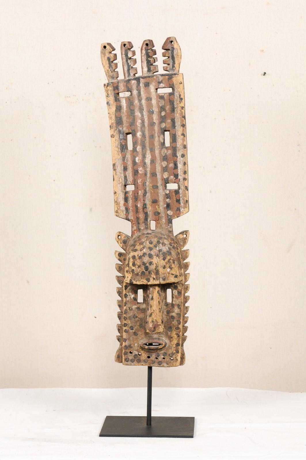 A Dogon Mali Dance Mask From Mid 20th Century For Sale At