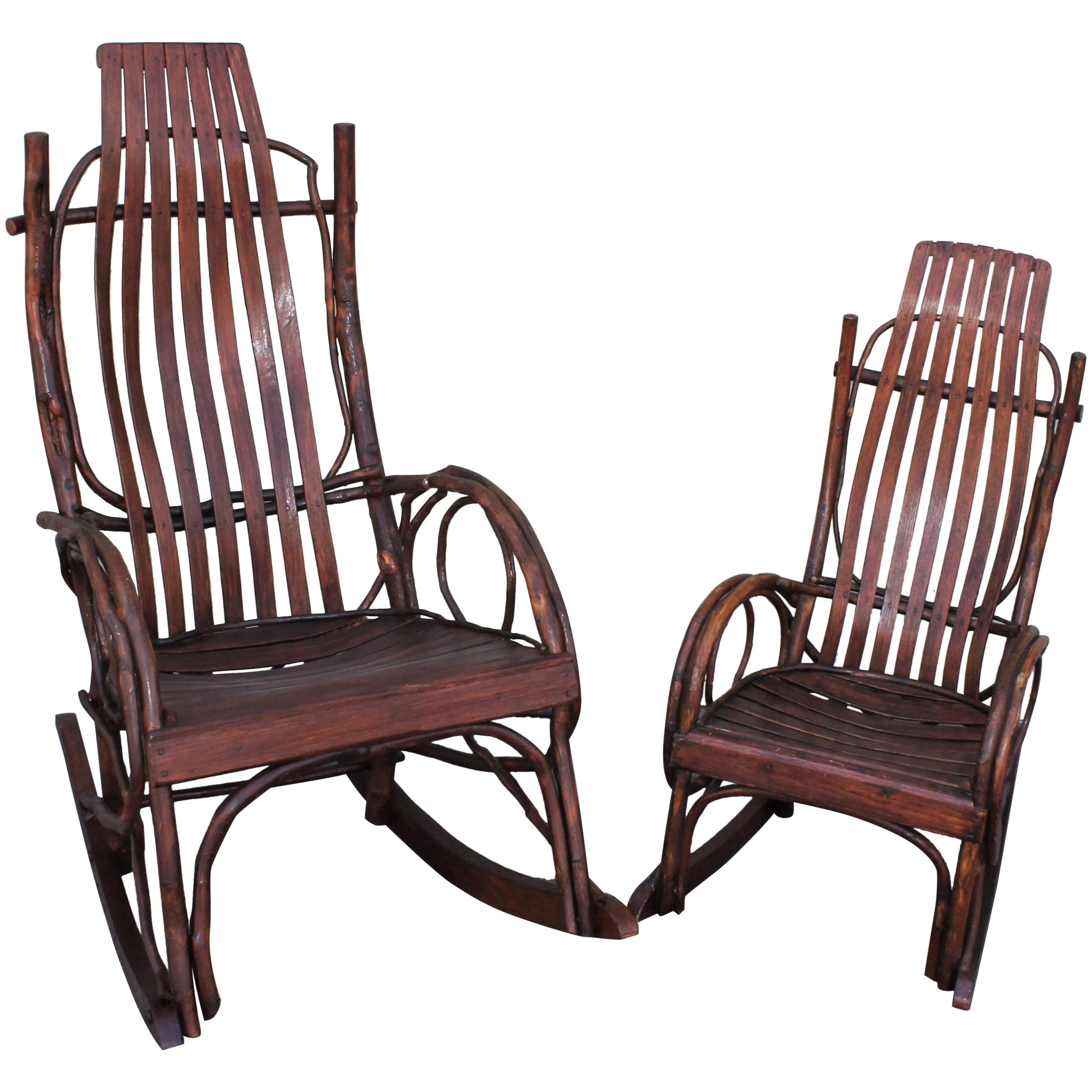 Amish Rocking Chair Amish Bent Wood Rocking Chairs Adults And Child S 2