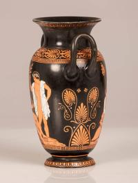 Antique English Attic Red Figure Greek Vase, England ...