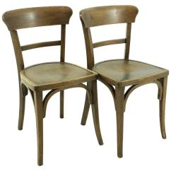 Vintage Wooden Chairs Parson Cheap Set Of Two Circa 1920 For Sale At 1stdibs Antique Tavern 1930s