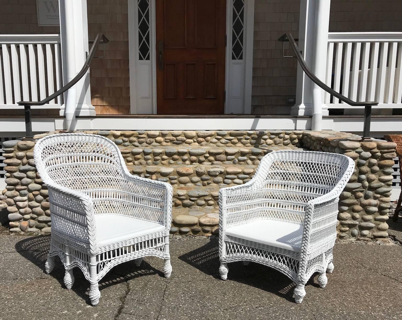 wicker chairs for sale ethan allen club chair slipcovers antique victorian six legged at 1stdibs american