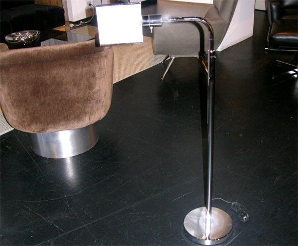 Chrome Pharmacist's Floor Lamp at 1stdibs