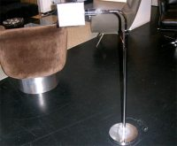 Chrome Pharmacist's Floor Lamp at 1stdibs